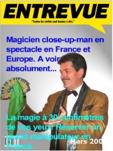 Spectacle de magie en close-up à réserver en France, cours collectifs.