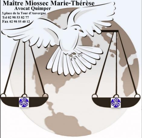 AVOCAT Maître MIOSSEC Marie-Therese