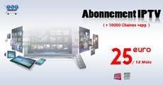 IPTV PRO 10000 CHAINES +EPG